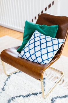 Leather Chair Ikea Hack