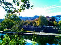 Boa tarde :D Chegam os dias de Sol incerto a Arcos de embora o Outono continue ameno e com temperaturas muito agradáveis. Na imagem o Rio Vez há alguns minutos atrás