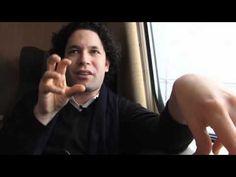 Welcome to the wonderful world of Gustavo Dudamel. Watch him conduct Bruckner, Sibelius & Nielsen.  Te adoro, Gustavo!! <3