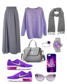 """""""Sporty grape 🍇 style"""" by sarahdjenane on Polyvore featuring Phase Eight, Casetify, Versace, Jet Set and Kenzo"""