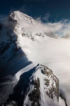 Supremely magnificent view of the Alps from Jungfrau