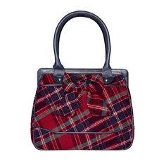 Tweed Bag with Bow - Bags from Ness Clothing