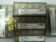 HERTEL Carbide Turning Inserts TPU 321 HC325 USA 10 Pcs