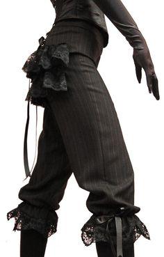 ::::♡م ♡ ✿⊱╮☼ ☾ PINTEREST.COM christiancross ☀❤•♥•* ✨♀✨ ::::Lady Apprentice Victorian Gothic Breeches - How cute are these :)