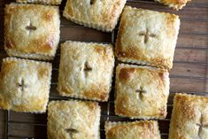 rhubarb cream cheese button pies by smitten, via Flickr
