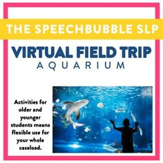 Engaging kids can be tricky so why not shake things up! A virtual field trip is a LOW PREP way to engage your kids in different ways while targeting their speech and language goals. #thespeechbubleslp #schoolslp #speechtherapy #speechlife #speechlove #ashaigers #slpeeps #slp2b