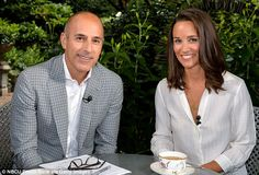 NBC 'poised to hire Pippa Middleton as Today Show correspondent after months of secret talks' Read more: http://www.dailymail.co.uk/news/article-2821359/NBC-poised-hire-Pippa-Middleton-Today-correspondent-two-years-secret-talks.html#ixzz3ILiKYKmU Follow us: @MailOnline on Twitter   DailyMail on Facebook