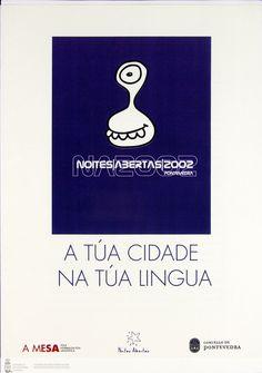 [A Mesa pola Normalización Lingüística e Concello de Pontevedra, 2002] http://catalogo-rbgalicia.xunta.gal/cgi-bin/koha/opac-detail.pl?biblionumber=942541&query_desc=kw%2Cwrdl%3A%20noites%20abertas