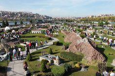 Miniatürk is mininature park Shore of Golden Horn in Istanbul Turkey - Miniatürk Sutluce Mahallesi Imrahor Caddesi Beyoglu Istanbul Turkey-spiritofdua