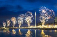 Celebrate with fireworks. #Brighton #i360