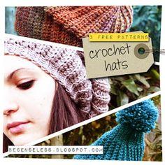 Airali handmade. Where is the Wonderland? Crochet, knit and amigurumi.: Crochet hats - 3 free patterns - #3 Snowboard