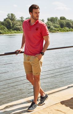 Discover our new spring-summer collection at Bolf.eu❗ Get inspired: Polo Shirt ➡ model 5084 Shorts ➡ model 82227