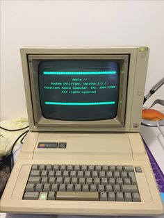 Retro Arcade Machine, Apple Ii, Intel Processors, Old Tv, Tv On The Radio, Computers, Technology, Future, Cool Stuff