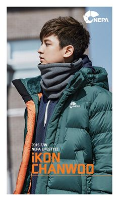 Chanwoo for iKON x NEPA F/W 2015© NEPA