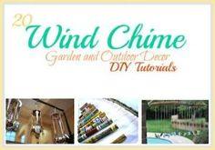 20 wind chime DIY tutorials #windchimes #tutorials by AFiskie