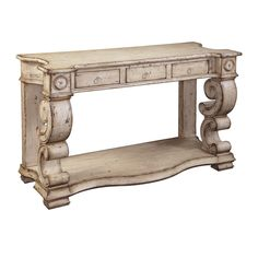Ultimate Accents Scrolled Console Table