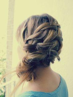 bridesmaid hairstyles for long hair7