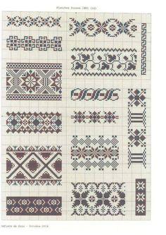 K Beaded Cross Stitch, Cross Stitch Borders, Cross Stitch Charts, Cross Stitching, Cross Stitch Patterns, Card Patterns, Loom Patterns, Beading Patterns, Folk Embroidery
