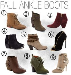 Ankle Boot Obsession