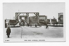 Free Ferry Approach Woolwich 1900