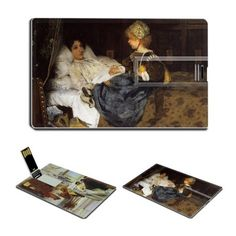 An Audience at Agrippas Always Welcome by Lawrence Alma-Tadema Oil Painting USB Flash Drive - www.dealok.com