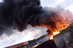Großbrand bei Reifenwerter in Ohlsdorf - nachrichten.at