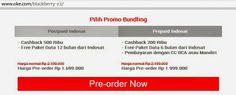 Promo Preorder BlackBerry Z3 Rp 1.699.000 (OkeShop)