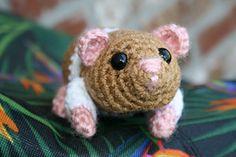 Hamster Amigurumi pattern by Sparrow-dream