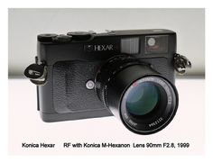 A relatively affordable Leica M-mount body which has a 'stealth' mode. Very nice body, perfect mounted with classic lenses. More advanced than an M6 for a lot less.