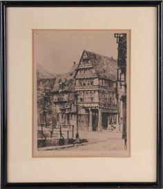 Hildesheim - Pfeilerhaus - St. Andreasplatz