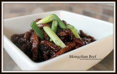 Mongolian Beef www.DaytoDayDreams.com