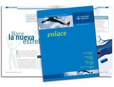 """Diseño editorial - Stop Diseño Gráfico - Diseño de Revista """"Enlace"""", laboratorios Boehringer Ingelheim."""