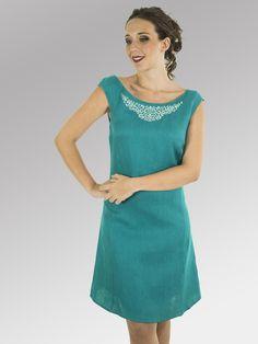 Vestido Lawrence #moda #lino #FW2014 www.abito.com.mx