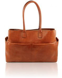 LAMPEDUSA TL141232 Large lady business bag with pocket - Borsa business grande con tasche