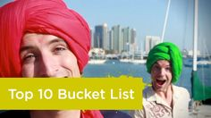 The Top 10 Bucket List Destinations - Alex and Marko Ayling, The Vagabrothers #MyBBB