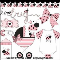 Baby Love Bug 1 Clip Art