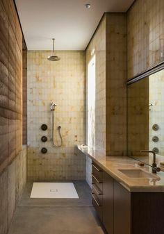 ideen-kleine-bader-schmales-badezimmer-dusche-beige-bodenfliesen, Hause ideen