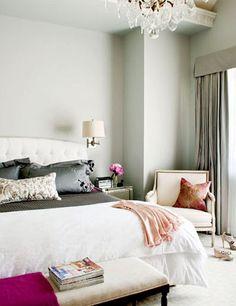 Sophisticated and stylish bedroom in French style    #dormitorio #estilofrancés #interiorismo #decoracion #bedroom #style #interiorism #Frenchstyle