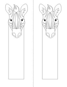 bookmarks to color | Animal Coloring Bookmarks « Children's Book Illustrator, Print and ...