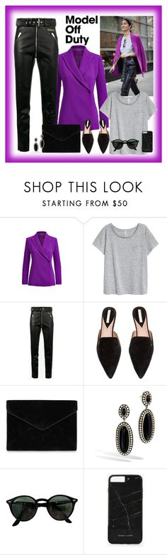 """Be a model"" by krista-zou on Polyvore featuring Balenciaga, Rebecca Minkoff, John Hardy, Ray-Ban and CHARLES & KEITH"