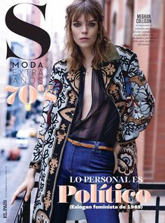 Meghan Collison by David Roemer for S Moda February 2015