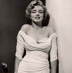 Marilyn Monroe is definitely an inspiration because my body type is VERY similar to hers...just my measurements are a little different..