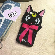 Kawaii Luna iphone case