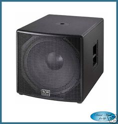 SR TECHNOLOGY SUBWOOFER ATTIVO ROAD SUB 18A 1000W RMS
