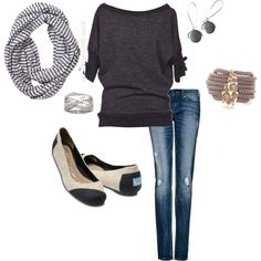 Everyday Casual, created by amylorbach.polyvore.com