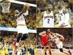 LeBron James realiza tripledoble y Cleveland pone 2-0 serie playoffs contra Toronto