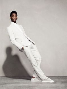 Hermès Spring Summer 2013. Check out his MJ stance. He has a body like him too. Fabulous, Keva xo.