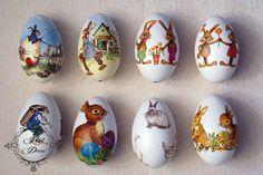 Easter Eggs, Decoupage, Chocolate, Easter Ideas, Bears, Arquitetura, Easter, Spring, Home