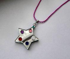 Crystal Temple's Star  Steven Universe Necklace by Miyuka on Etsy