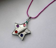 Crystal Temple's Star  Steven Universe Necklace by Miyuka on Etsy